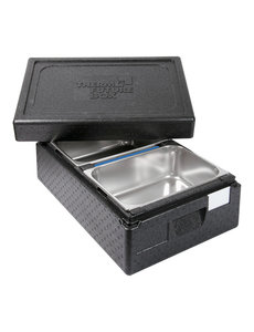 Thermo Future Box Thermo IJstransportbox | Voor 2 IJsbakken | 60x40x(H)26cm