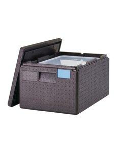 Cambro Geïsoleerde Voedselcontainer | Cambro GoBox 43 Liter | Incl. GN Bak en Deksel | 64x44x(H)62,5cm