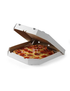 Hendi Dekselsteun voor Pizzadozen | Hoogte 35 mm. | 500 stuks