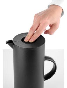 Hendi Isoleerkan met Drukknop voor Schenken 1 Liter | Dubbelwandig