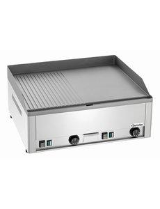 Bartscher Elektrische Grillplaat | Glad / Geribd | 400V / 6kW | 66x58x(H)31cm