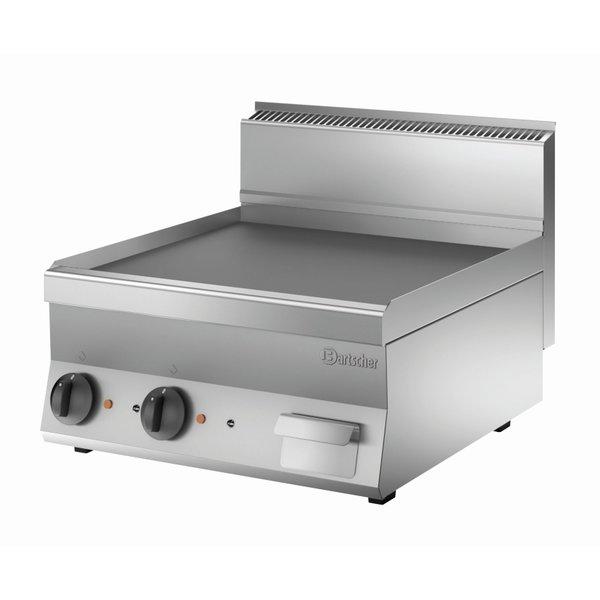 Bartscher Elektrische Grillplaat | Bartscher B400 | Glad | 7,8kW/400V | 60x65x(H)29,5cm