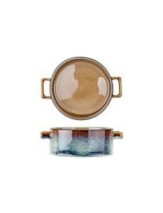 Cosy & Trendy Quintana Amber | Soepkom 45cl | Ø13x(H)5,5cm | Per 4 stuks