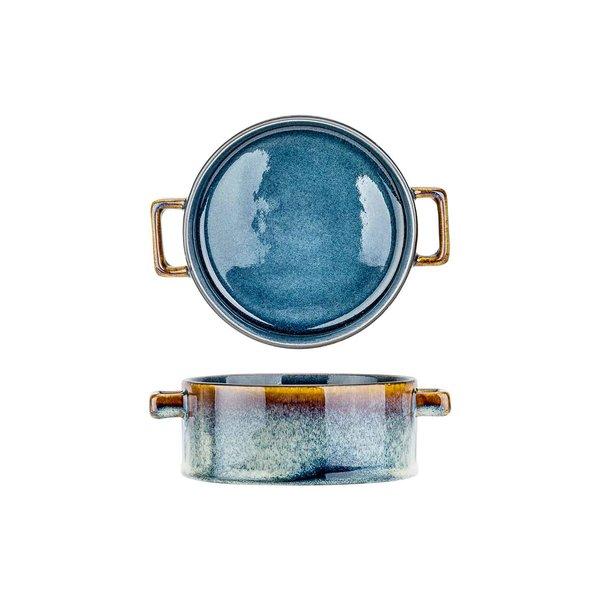 Cosy & Trendy Quintana Blue | Soepkom 45cl | Ø13x(H)5,5cm | Per 4 stuks
