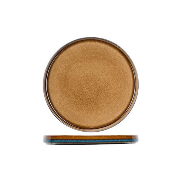 Cosy & Trendy Quintana Amber | Dessertbord | Ø22cm | Per 4 stuks