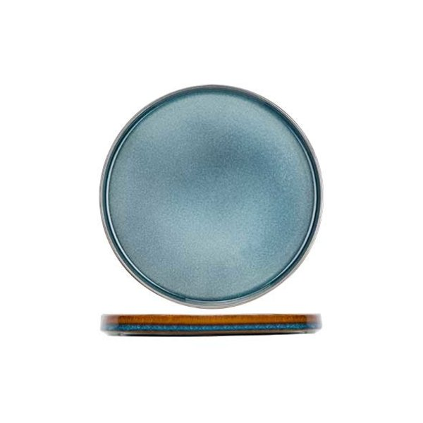 Cosy & Trendy Quintana Blue | Dessertbord | Ø22cm | Per 4 stuks