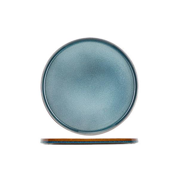 Cosy & Trendy Quintana Blue | Plat Bord | Ø32,5cm | Per 2 stuks