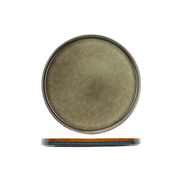 Cosy & Trendy Quintana Green | Plat bord | Ø27,5cm | Per 2 stuks