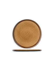Cosy & Trendy Quintana Amber | Plat Bord | Ø32,5cm | Per 2 stuks