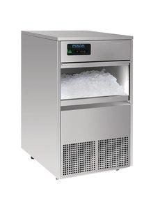 Polar IJsblokjesmachine | Polar | RVS | 50kg per 24 uur | 49,8x60,4x(H)83,1cm