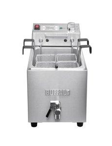 Buffalo Pastakoker met Aftapkraan | 8 Liter | +26°C tot +105°C | 28,5x52x(H)43cm