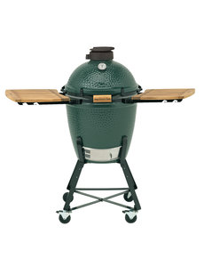 Big Green Egg BGE Medium | Onderstel | Zijplankjes | Rooster Ø 33 cm.