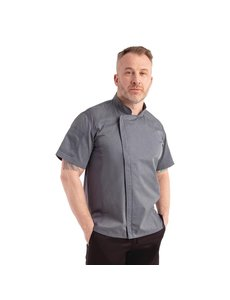 Chef Works Koksbuis Korte Mouw | Chef Works Springfield | Inktblauw | Unisex