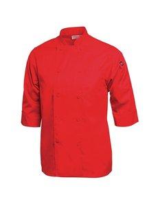 Chef Works Koksbuis Korte Mouw | Chef Works | Rood | Unisex