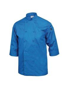 Chef Works Koksbuis Korte Mouw | Chef Works | Blauw | Unisex