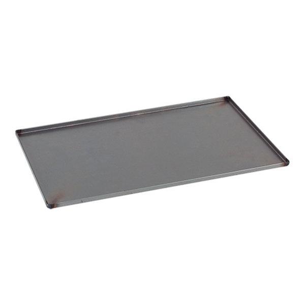 EMGA Bakplaat Plaatstaal | 60 x 40 cm. | Bakerijnorm