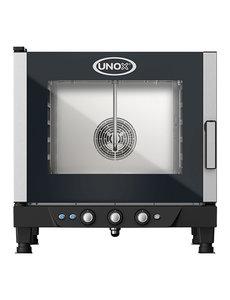 UNOX ChefLux Heteluchtoven Manuel | 5x GN1/1 | 400V/7.1kW | 77(H)x77x75cm