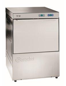 Bartscher Vaatwasmachine met Naglanspomp | Deltamat TF50 | Korven 50x50cm.