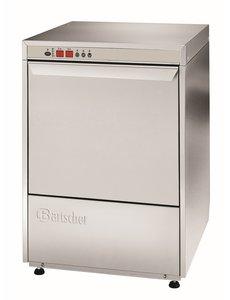 Bartscher Vaatwasmachine met Naglanspomp | Kratten 60x40cm. | Deltamat TF641 | 400V / 6.65 kW