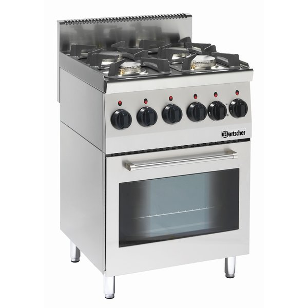 Bartscher Gasfornuis   Elektrische oven   4-pits   Bartscher   230V   60x60x(H)90cm