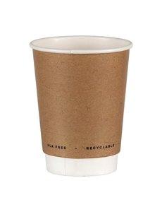 Fiesta Green Kartonnen koffiebeker | 22,5cl | Milieuvriendelijk | Dubbelwandig | Per 500 stuks
