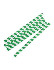 Fiesta Green Smoothie Rietjes | 100% afbreekbaar | 21cm | Per 250 stuks