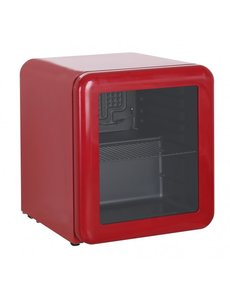 Exquisit Exquisit Mini Koelkast KB50-Retrored | 48 Liter | Rood | 43x50x(H)50cm
