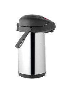 EMGA Pompkan met Draaibare Voet RVS |  4.0 Liter