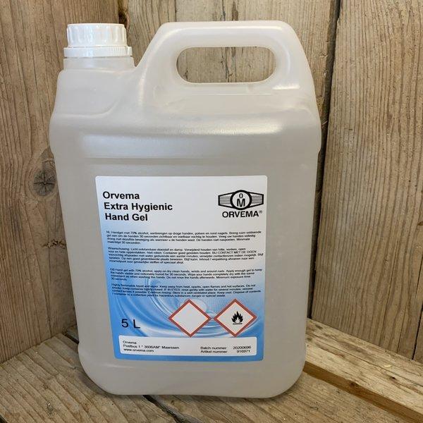 24Horeca Desinfecterende Handgel   70% Alcohol   5 Liter Can