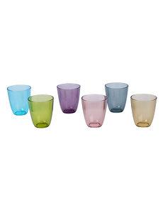 Cosy & Trendy Streetfood festival glas 31 cl. | Set van 6 kleuren