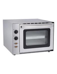 CaterChef Pizza Heteluchtoven met Tijdklok | 60°C - 300°C | 42Hx61x56 cm.