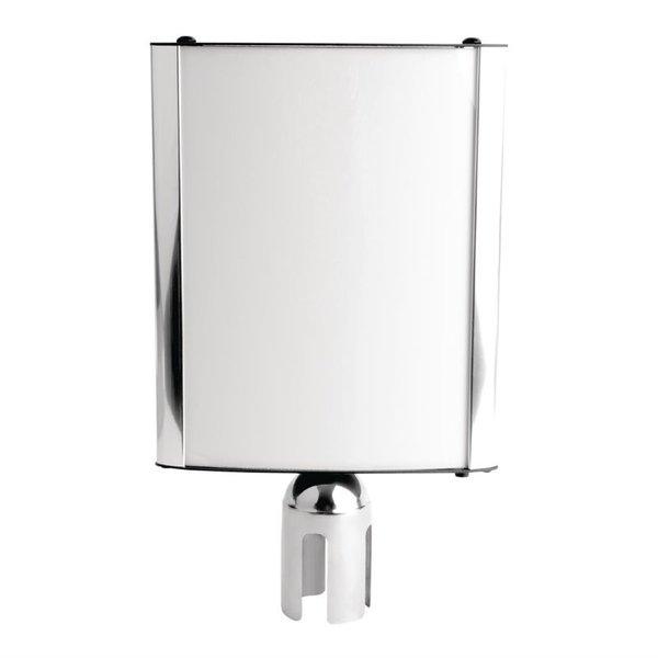 Bolero Afzetpaal Display RVS | Geschikt voor GC605 en GC606