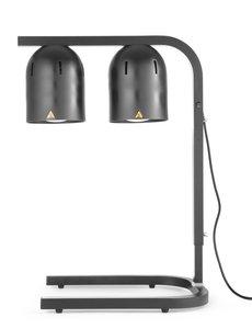 Hendi Infrarood warmhoudbrug   Zwart   500W   453x360x(H)790mm