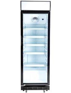 Exquisit Display Koelkast met lichtbak ELDC400.1XL | 360 Liter | 62x64x(H)194cm