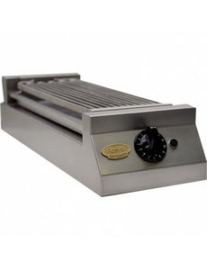 Rosval Watergrill met 1 Element | Stand Alone | 230V - 2500W | RWG26  | Bak opp. 175x505 mm.