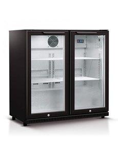 Husky Display Koelkast Backbar | 2 deuren | 186 Liter | 87x52x(H)87cm
