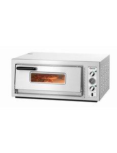 Bartscher Pizzaoven   4 Pizza's Ø 30 cm.   400V / 5kW   NT 621