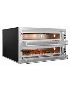 Bartscher Pizzaoven   2 x 9 Pizza's Ø 33 cm.   400V / 24kW   ET 205
