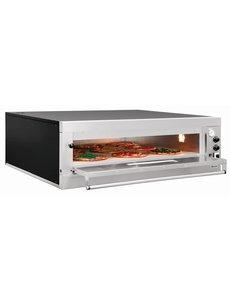 Bartscher Pizzaoven | Voor 9 Pizza's Ø 33 cm. | 12kW / 400V | ET 105