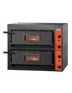 Bartscher Pizzaoven   Voor 8 Pizza's Ø 30 cm.   8.4kW / 400V   CT 200
