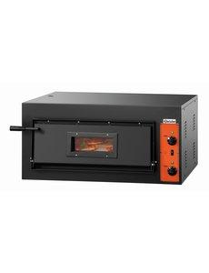 Bartscher Pizzaoven    Voor 4 Pizza's max. Ø 30 cm.    4.2kW / 400V    CT 100
