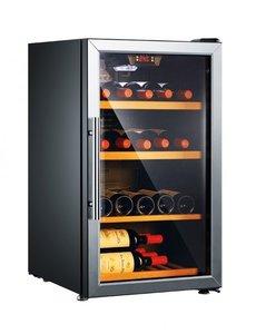 Exquisit Wijnkoelkast voor 52 flessen | 133 liter | 53x63xH83cm