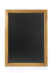 Hendi Krijtbord met Houten Lijst   600 x 800 mm