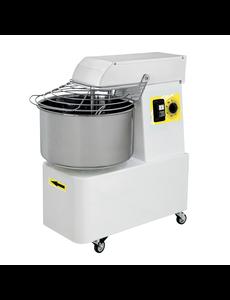 Gastro-Inox Spiraalmixer met vaste Kom en Kop | 16 Liter  | 230V  | 750Watt