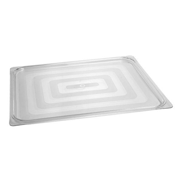 CaterChef Gastronorm Deksel GN2/1 | Polycarbonaat Doorzichtig | 650x530 mm.