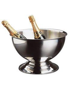 APS Champagne Bowl / Wijnkoeler | RVS | 13,5 Liter | Ø40,5x(H)22,5cm