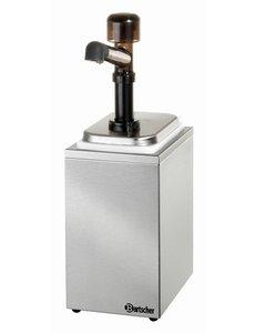 Bartscher Sausdispenser Pompstation met 1 Pomp   1x 3.3 Liter