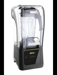 Buffalo Blender met Geluidskap  | 2,5 Liter | Digitale Bediening | Variabele Snelheid | 1680Watt
