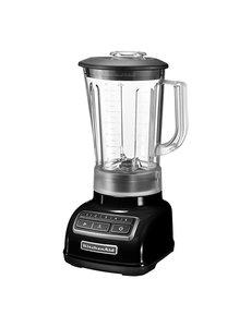 KitchenAid Blender Classic Zwart | Mengbeker 1,75 Liter | 550Watt | 2 Snelheden