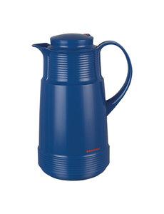 Rotpunkt Isoleerkan Kunststof met Glazen Binnenpot | Blauw | 1 Liter | Hoogte 26cm